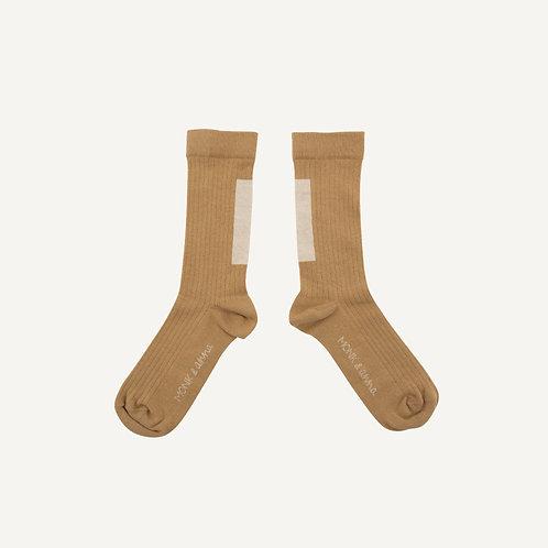 Socks • graphic • wheat + milk