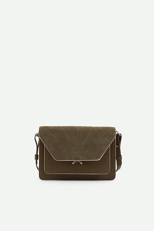 satchel | ton sur ton | olive green