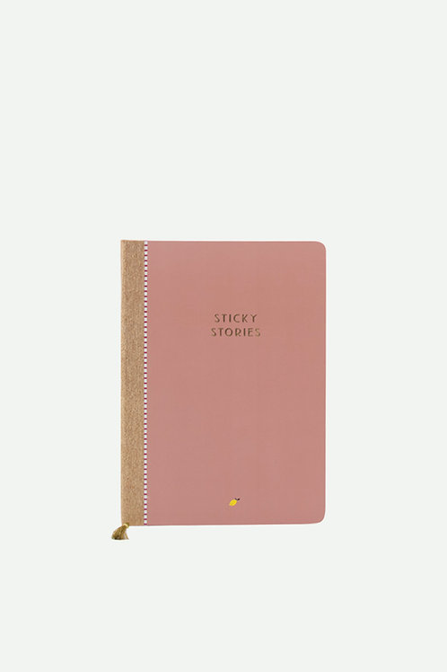 notebook | sticky stories