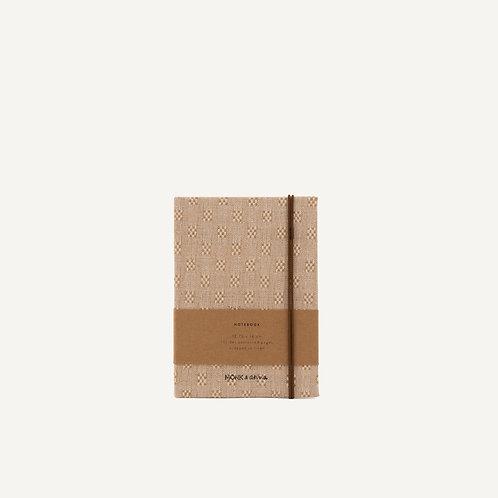 Notebook S • linen • vintage linen
