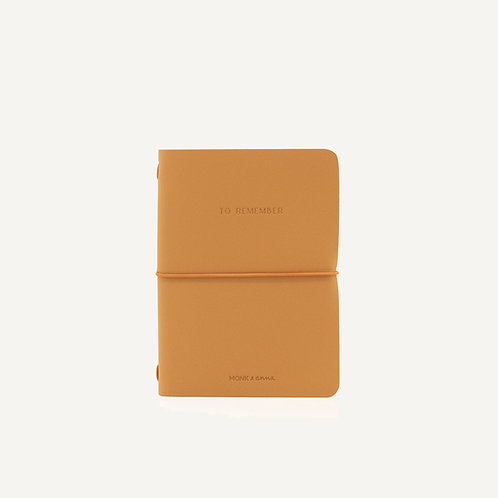 Notebook M • cashew