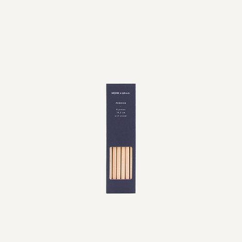 Pencils • blank wood • midnight blue