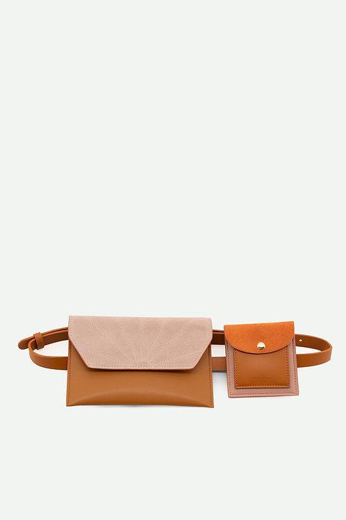 belt bag   coloré   cinnamon brown