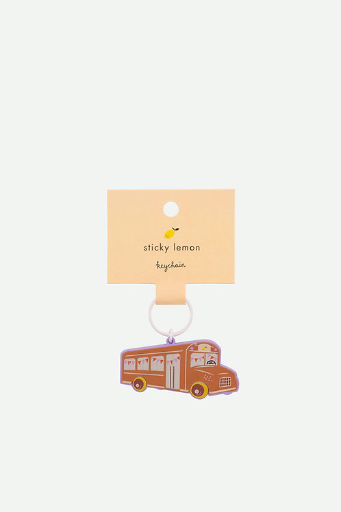 keychain   schoolbus