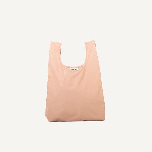 Monk bag • vegan leather • softpink