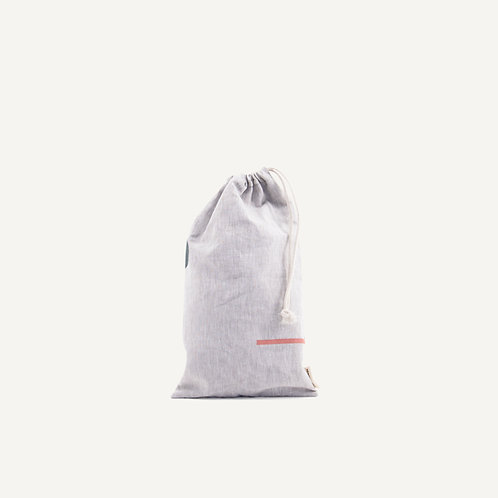 Storage pouch M • natural linen