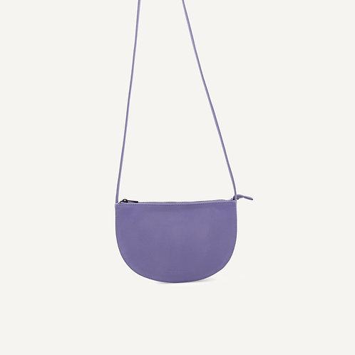Farou half moon bag • microfiber • lilac