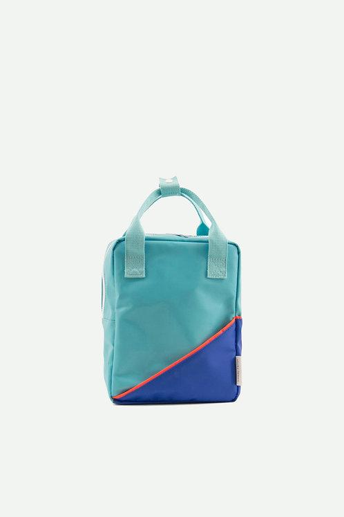 small backpack diagonal | retro mint