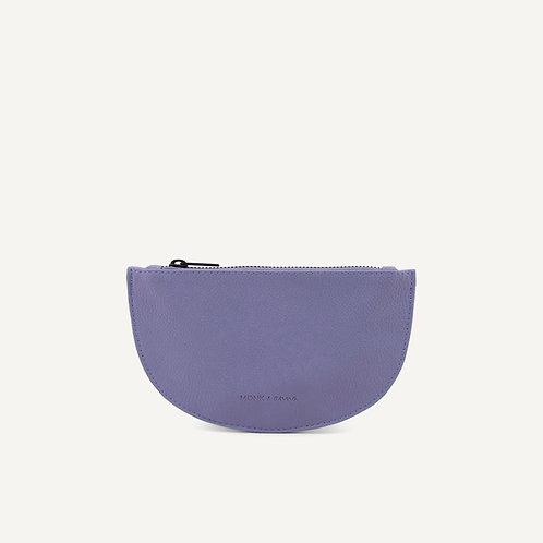 Mondo half moon wallet • microfiber • lilac