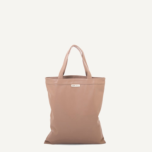 Anna shopper • vegan leather • taupe