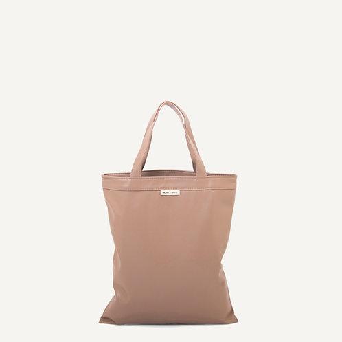 Anna shopper • vegan leather • nude