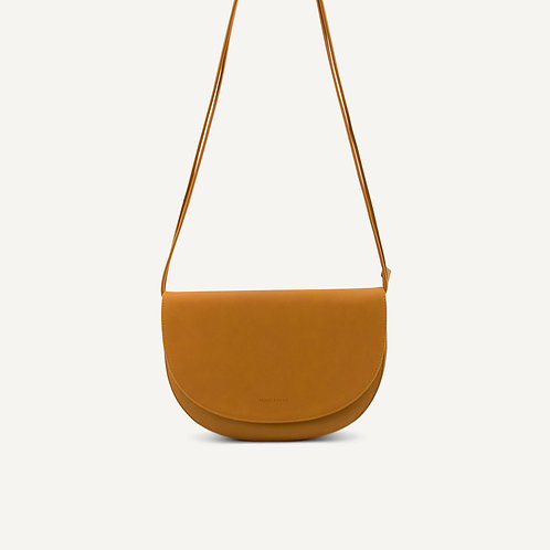 Soma half moon bag • microfiber • honey