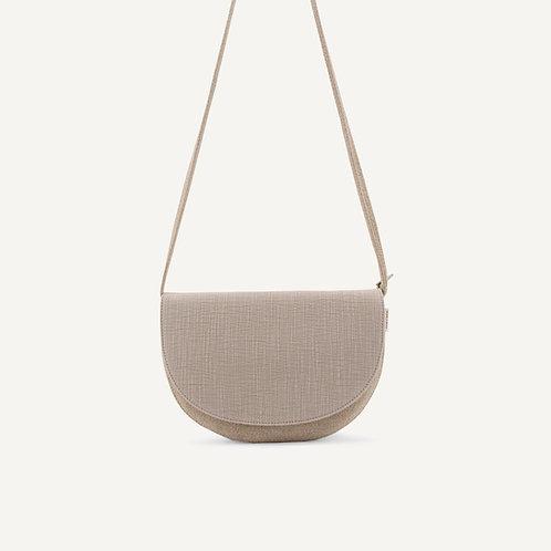 Soma half moon bag • linen