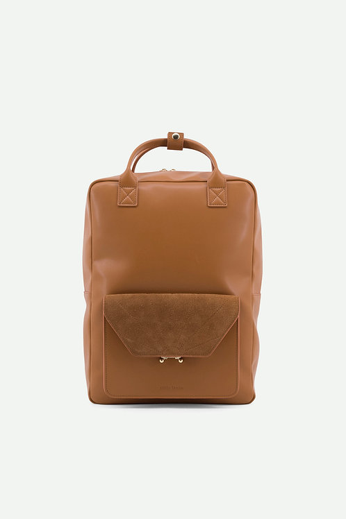 Coming soon | backpack | ton sur ton | cider brown