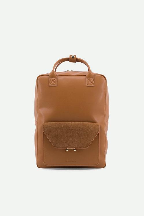 backpack | ton sur ton | cider brown