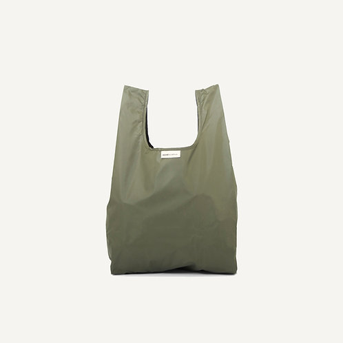Monk bag • nylon • forest green