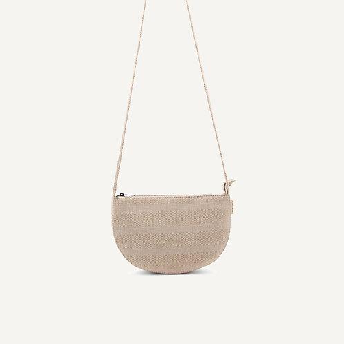 Farou half moon bag • linen