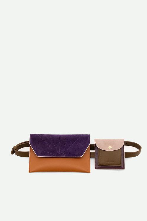belt bag | coloré | olive green