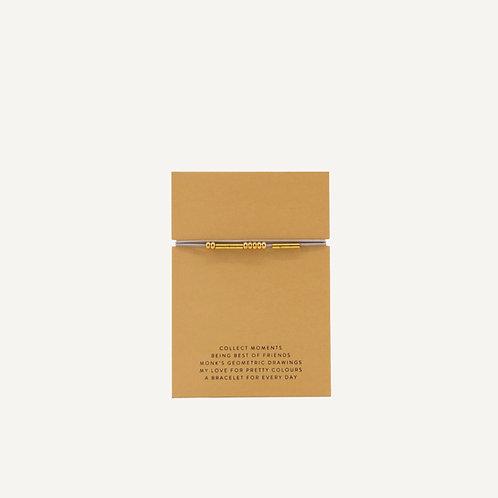 Friendship bracelet • Lilac