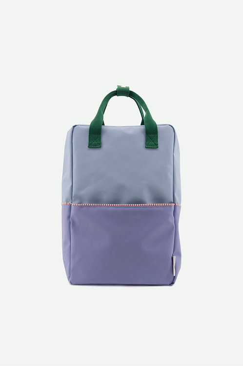large backpack colourblocking | henckles blue