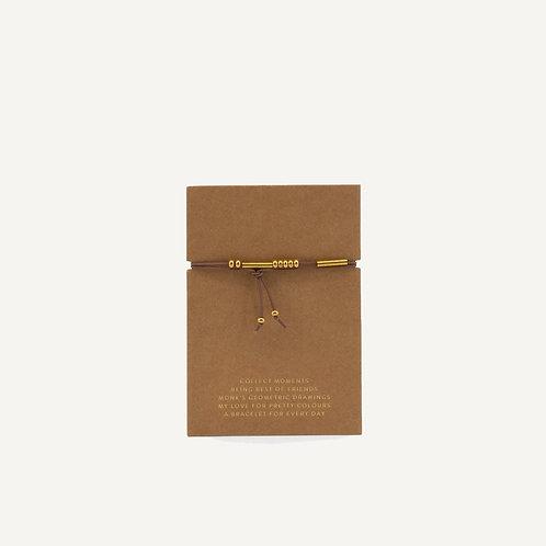 Friendship bracelet • cacao