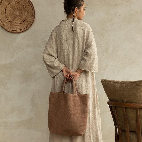 Baya shopper • wool • cacao