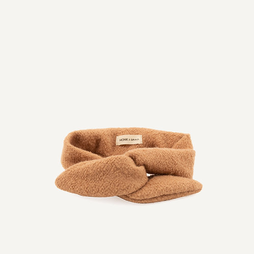 Headband • wool • cashew