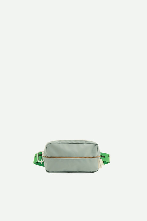 fanny pack sprinkles | steel blue + apple green + brassy green