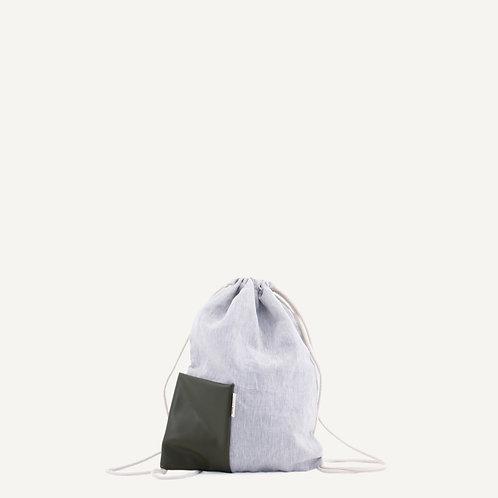 Nias drawstring bag • forest green