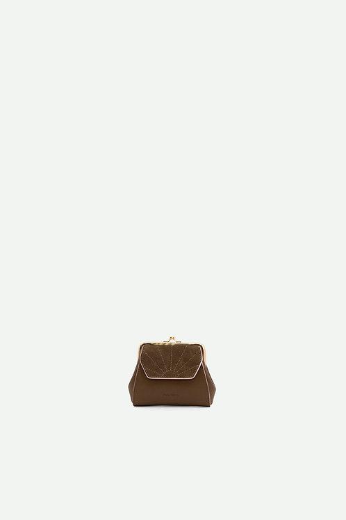 wallet | ton sur ton | olive green