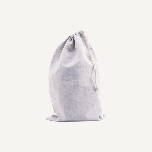 Storage pouch L • natural linen