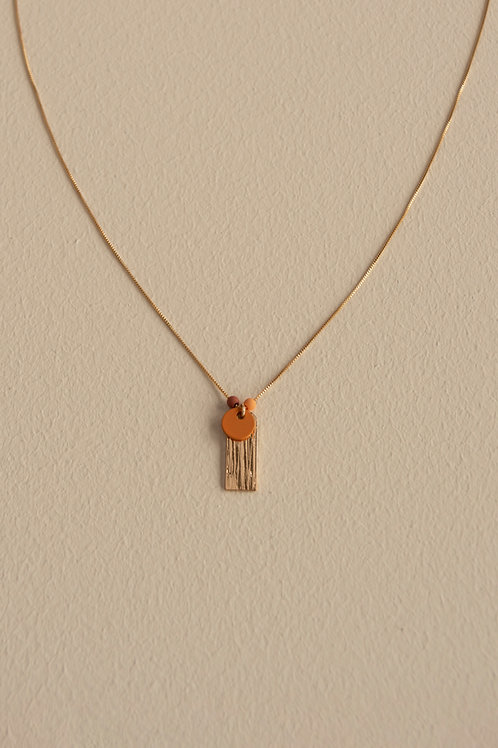Necklace | shaded of sunset