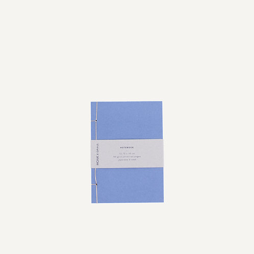 Notebook S • japanese binding • blue