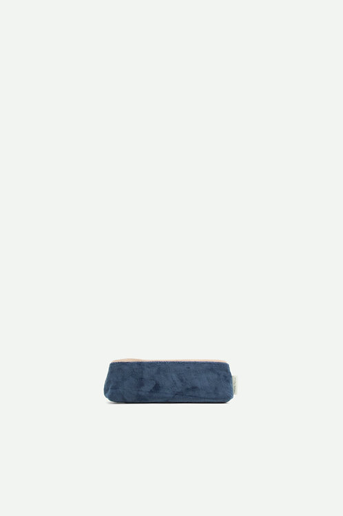 pencil case teddy | dark blue