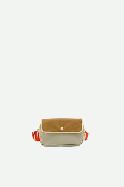 fanny pack small | gingham | pool green + apple red + leaf green