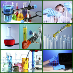 Chemistry concept. Lab Collage.jpg