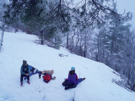 Colby January internship: Reflections from the Winter Landscape