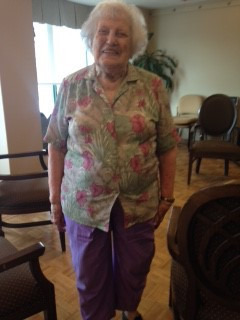 Christine 100 yrs old