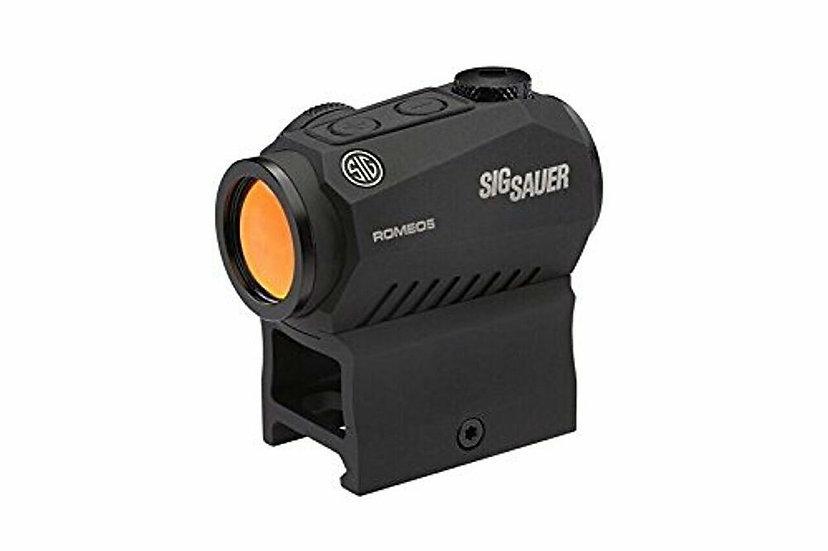 Sig Sauer SOR50000 Romeo5 1x20mm Compact 2 Moa Red Dot Sight, Black -