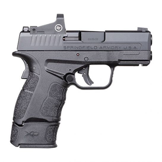 SPRINGFIELD ARMORY XDS MOD 2 OSP 9MM PISTOL WITH RED DOT, BLACK