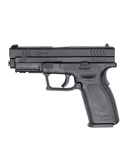 """SPRINGFIELD XD9 4"""" TACTICAL BLACK 9MM"""