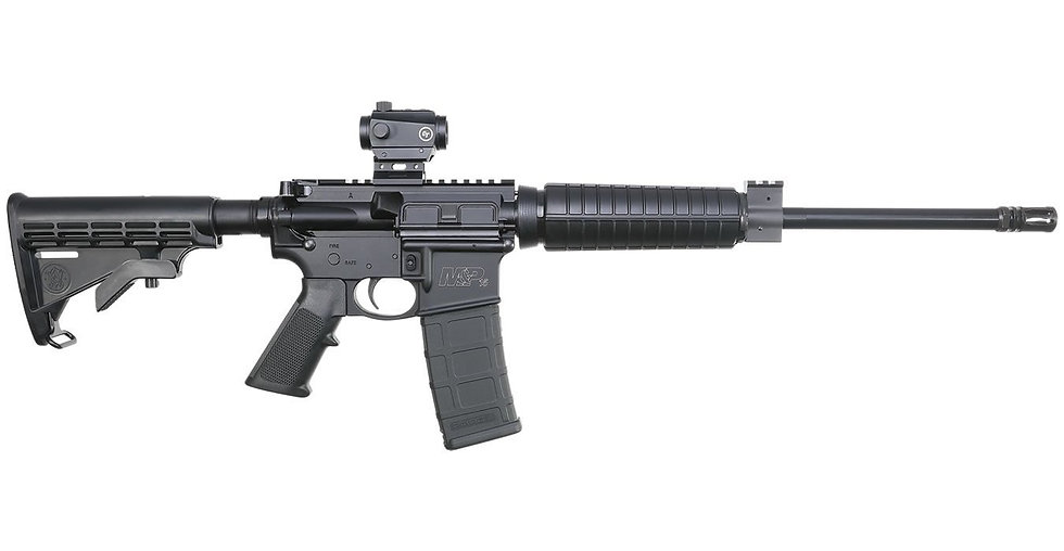 SMITH-WESSONMP-15 SPORT II 5.56X45 16IN W/ RED DOT