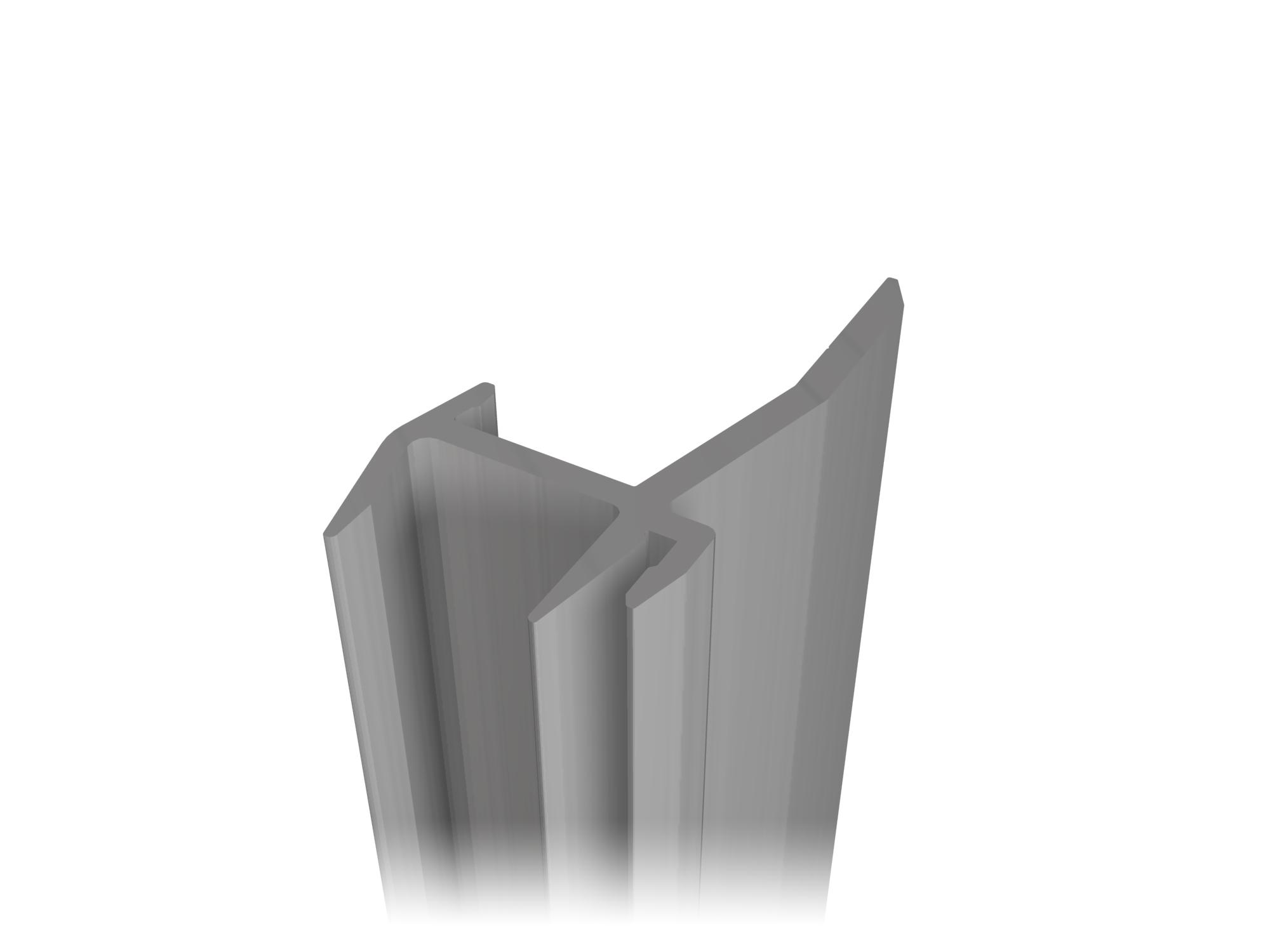 Aluminum profile A-139