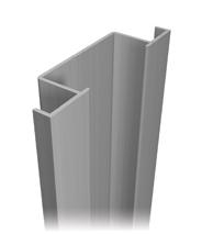 Aluminum profile A-186
