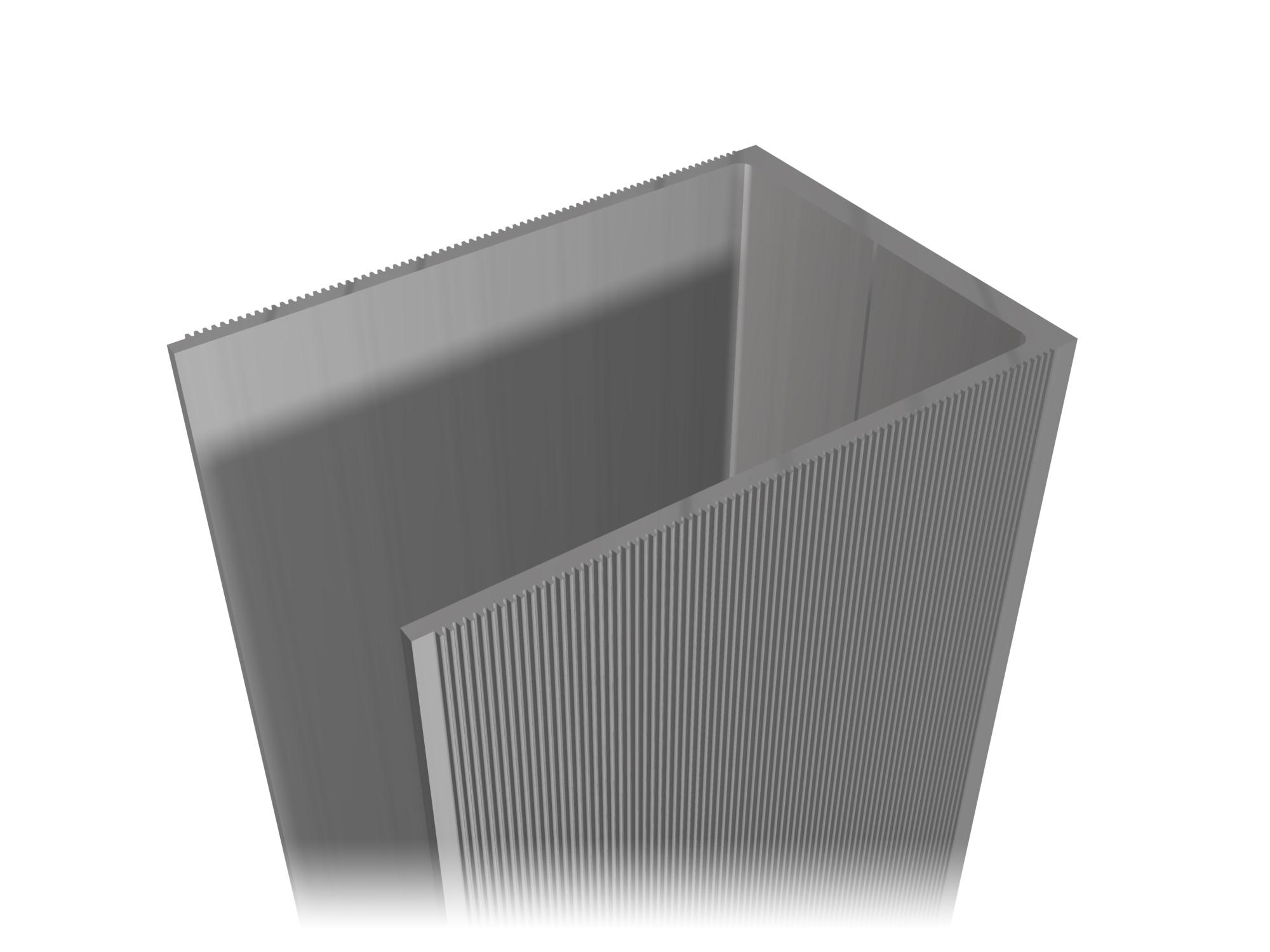 Aluminum profile A-03.9