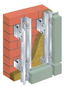 thermally broken wall clip system canada vancouver
