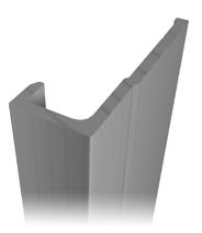 Aluminum profile A-176