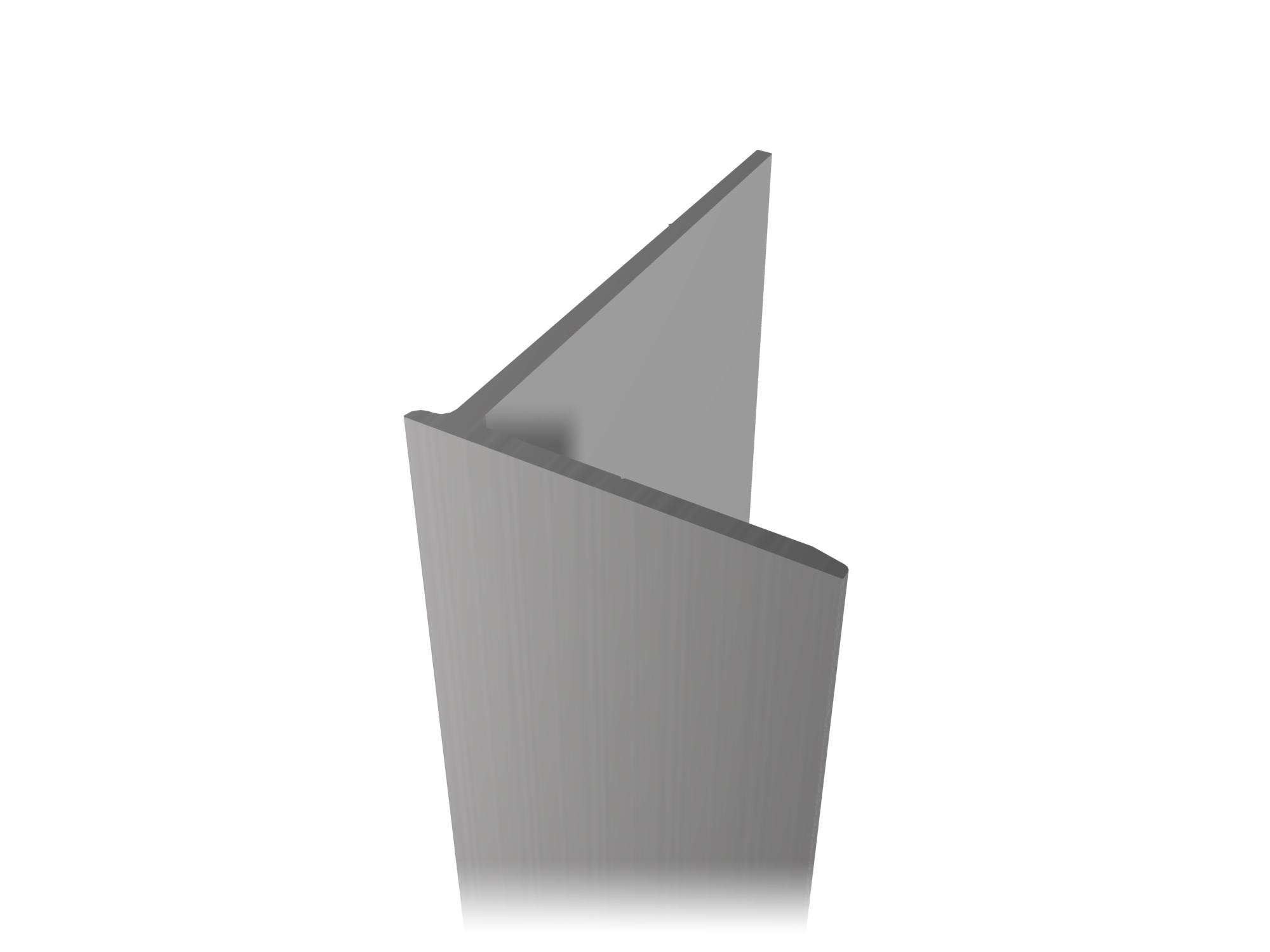 Aluminum profile A-48.1