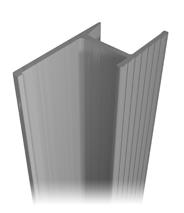 Aluminum profile A-16.5