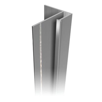 Aluminum profile A-44